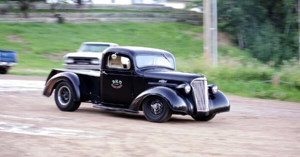クラッシクカーの写真