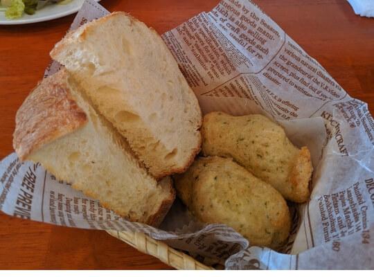 揚げパンの写真