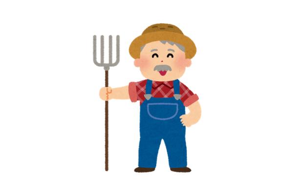 農家の人のイラスト
