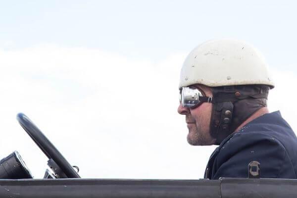 ベテランドライバーの写真