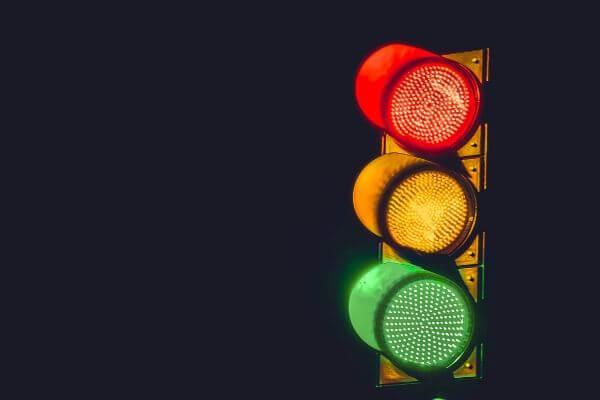 信号の写真