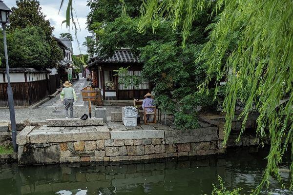 川舟チケット売り場の写真
