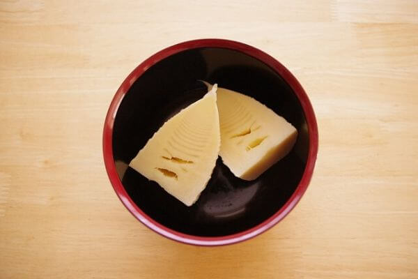 タケノコ料理の写真
