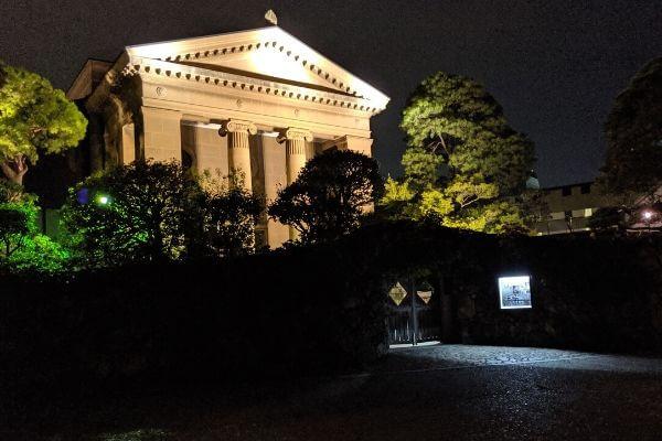 大原美術館の夜