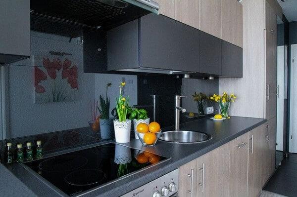 システムキッチンの写真