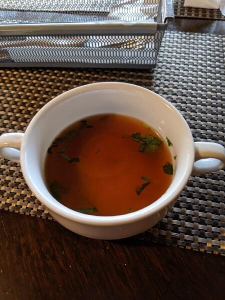 朔のスープの写真