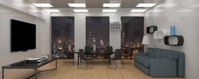都会的な部屋の写真