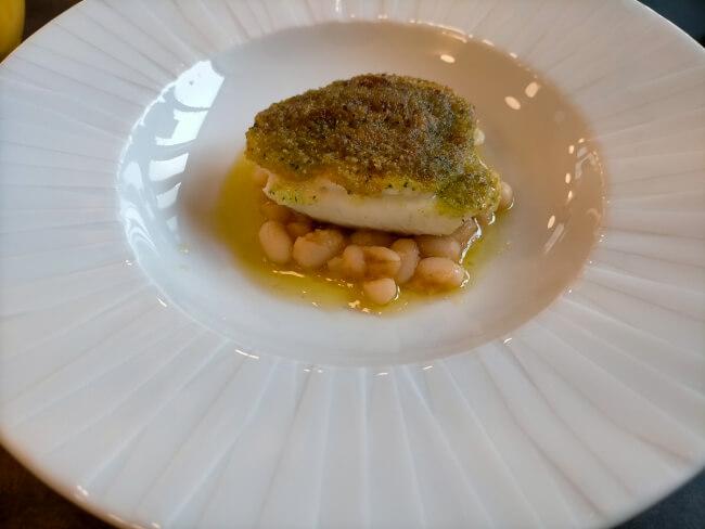 ピエナの真鯛料理