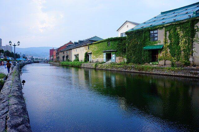 小樽運河の写真