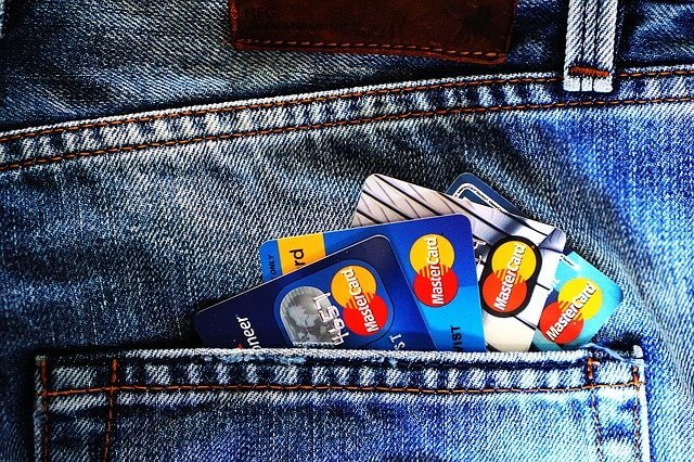 クレジットカードの写真